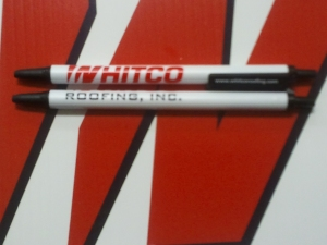 Whitco Roofing Pens